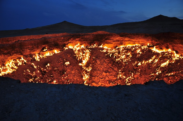 Darvaza gas crater of Turkmenistan - The Door to Hell