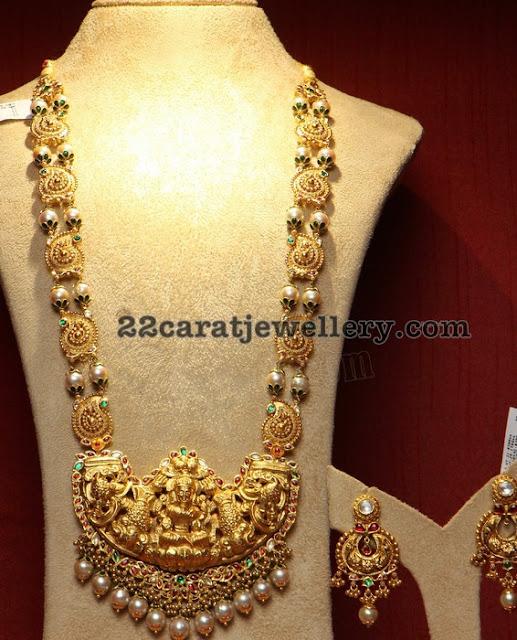 South Sea Pearls Set with Mango Design