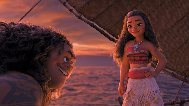 Dwayne Johnson Auli'i Cravalho | Disney's Moana