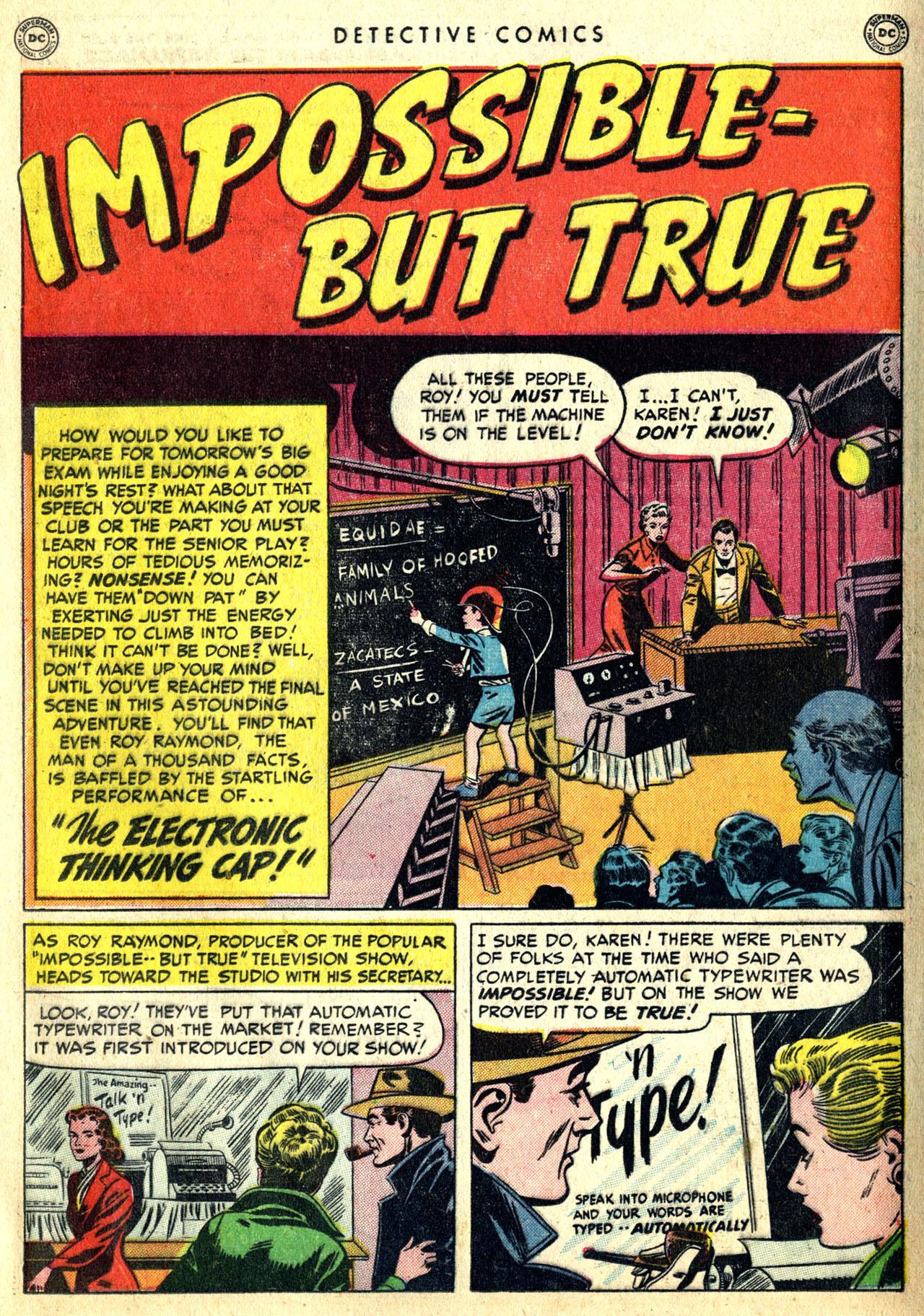 Read online Detective Comics (1937) comic -  Issue #168 - 19