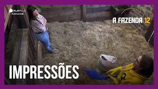 A Fazenda 12 – Stéfani e Carol  e a expectativa para a festa – Peoas falam sobre pós-Roça
