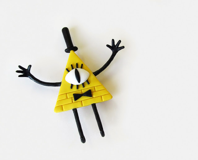 DIY: Bill Cipher de Gravity Falls