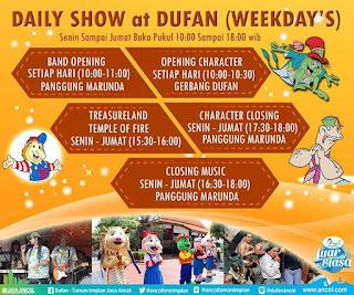 Harga Tiket Masuk Taman Impian Jaya Ancol Dufan