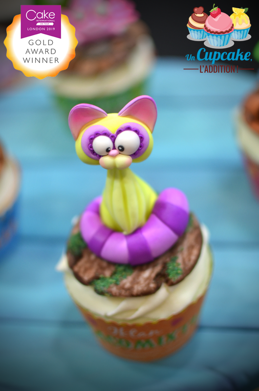 Cupcakes « Alebrijes Mexicains » - Iktan le Cacomixtle