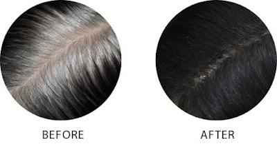 صورة نتيجة بودرة الشعر الابيض