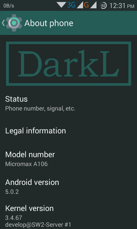 New Dark L ROM for Micromax Unite 2