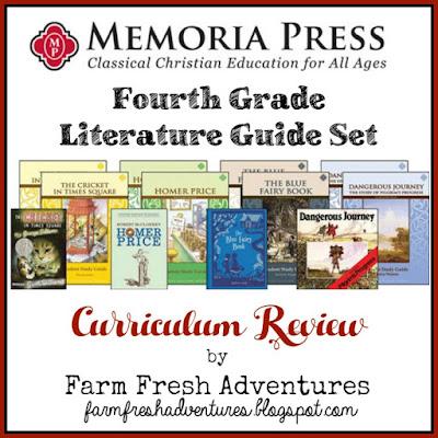 Memoria Press Fourth Grade Literature Guide Set Product Review