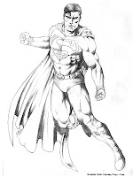 The Man Of Steel Coloring Pages