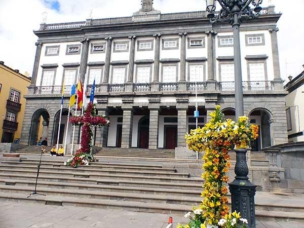 Día de la Cruz de Mayo 2018, plaza Santa Ana, Las Palmas de Gran Canaria
