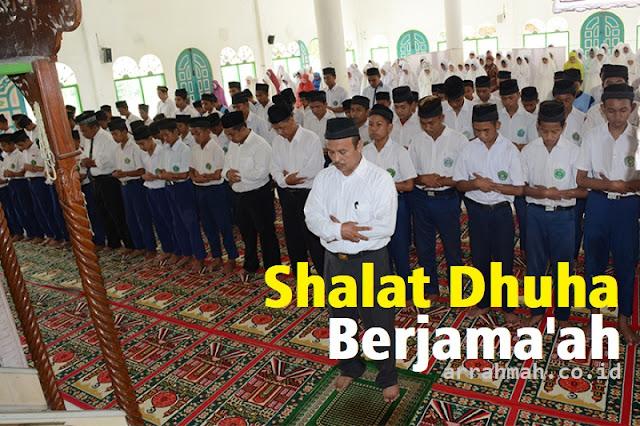 Bolehkah Shalat Dhuha Berjama'ah yang Dilakukan Secara Terus Menerus?