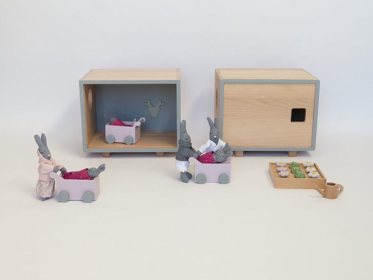 Cubes dollhouses | Cleo-inspire Home Decor Blog
