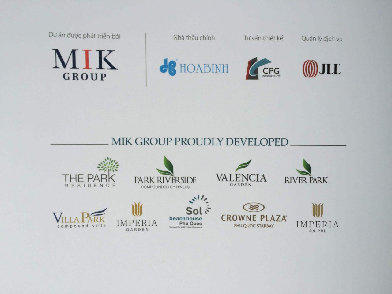 Thành tựu chủ đầu tư dự án Imperia Sky Garden