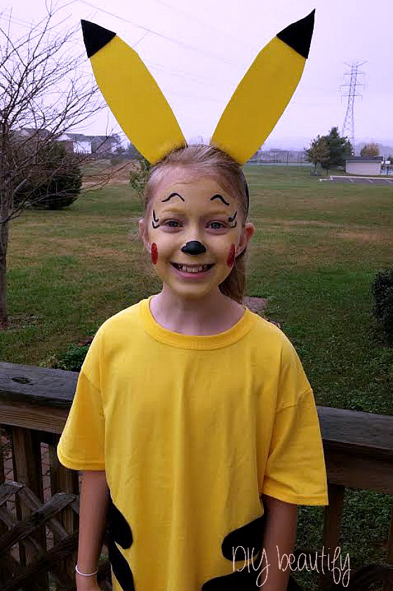 Pikachu Costume Diy Beautify