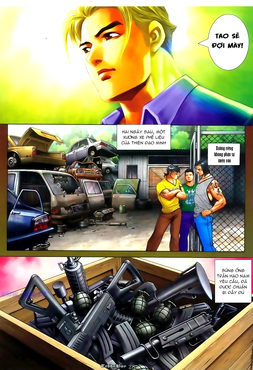 Người Trong Giang Hồ Chap 1114 - Truyen.Chap.VN