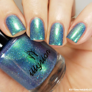 Illyrian Polish For The Love Of Polish Under Your Spell Swatches and Review