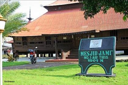 Wisata Religi Masjid Jami' Air Tiris, Kampar