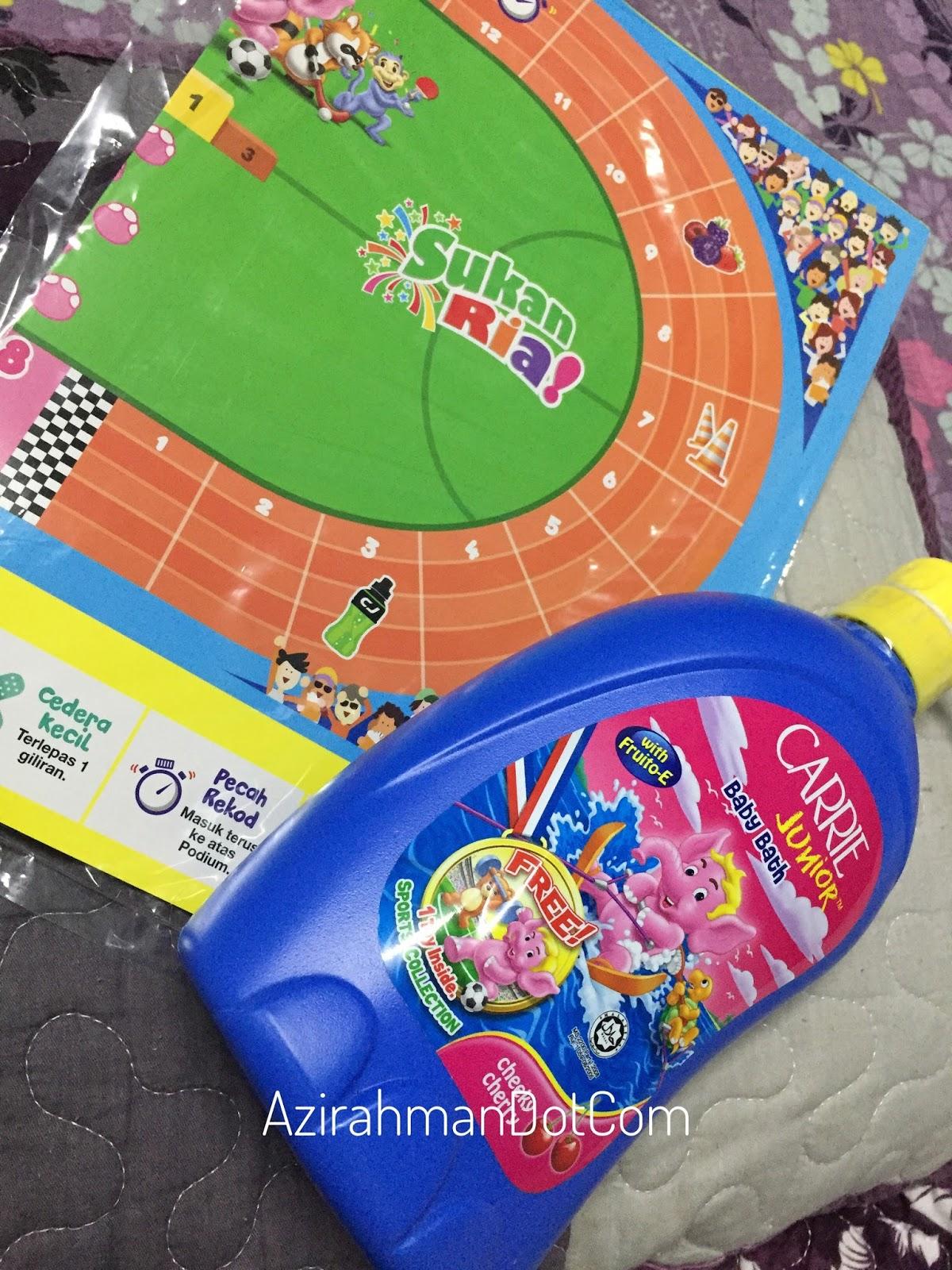 carrie junior collection, rangkaian produk carrie junior, hadiah untuk si manja, mandian si manja, anak-anak kreatif