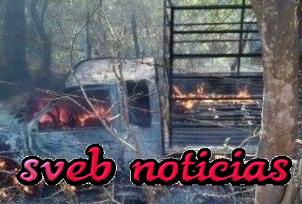 Ejecutan a ex autodefensa y lo queman junto con su camioneta en Michoacan