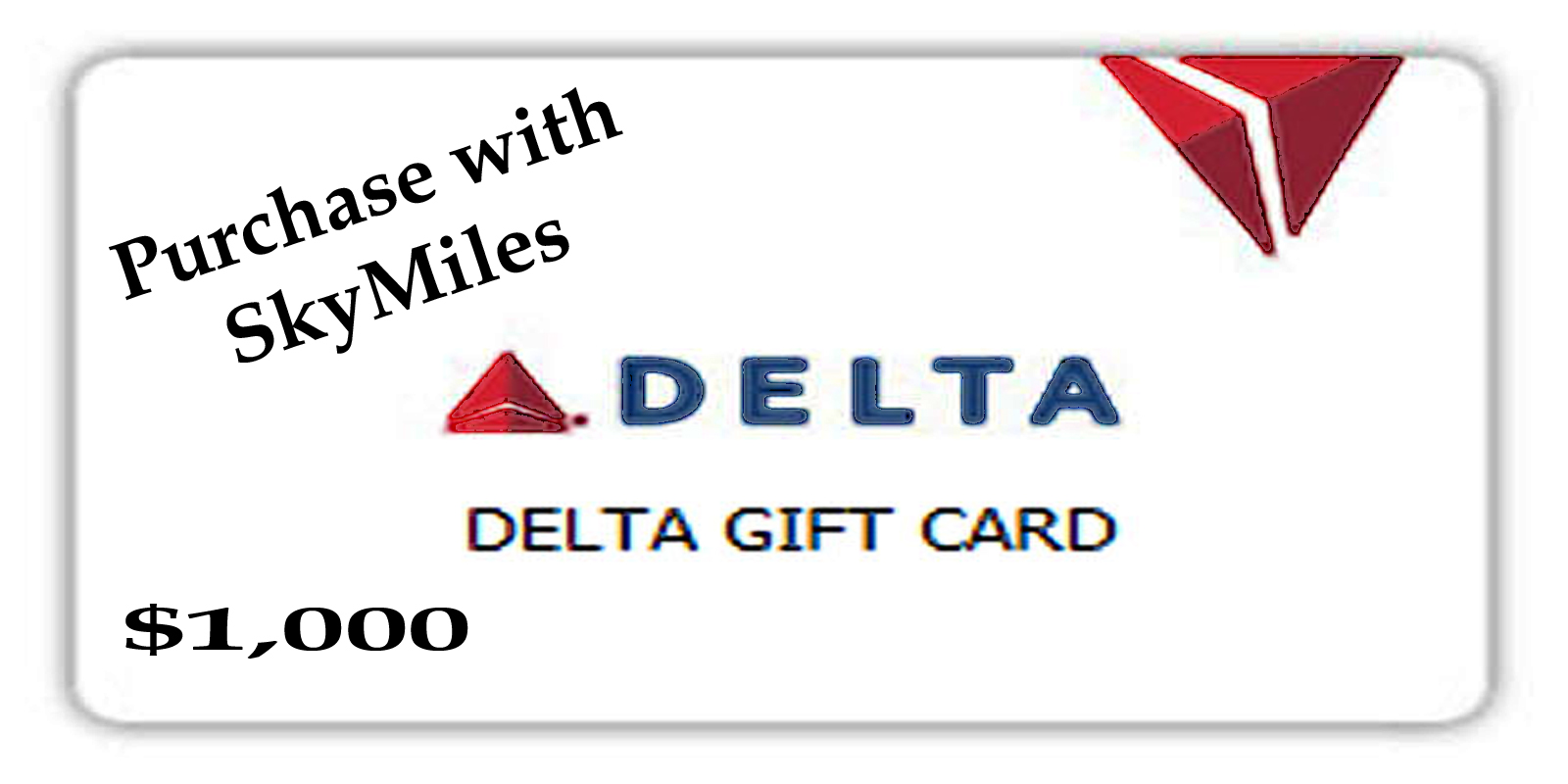 Delta Air Lines Now Allows Purchase Of Gift Card Using Your Skymiles