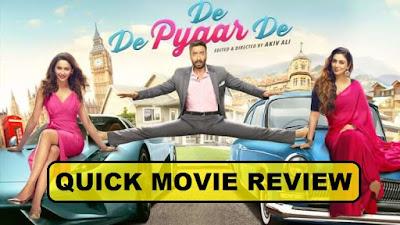 De De Pyaar De Movie First Review In Hindi