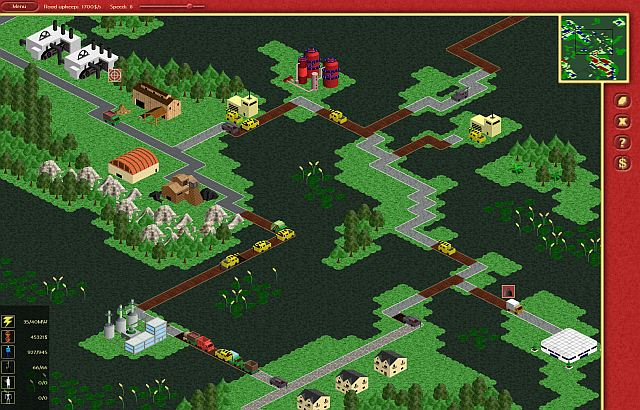 Indie Retro News: Road Works - RTS inspired by classic City Builder