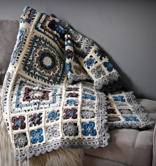 Spring Lane Mystery Blanket CAL - Free Pattern