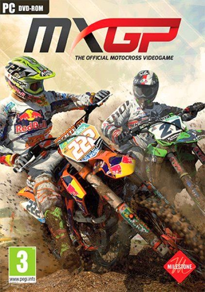 Cover Caratula MXGP The Official Motocross Videogame PC