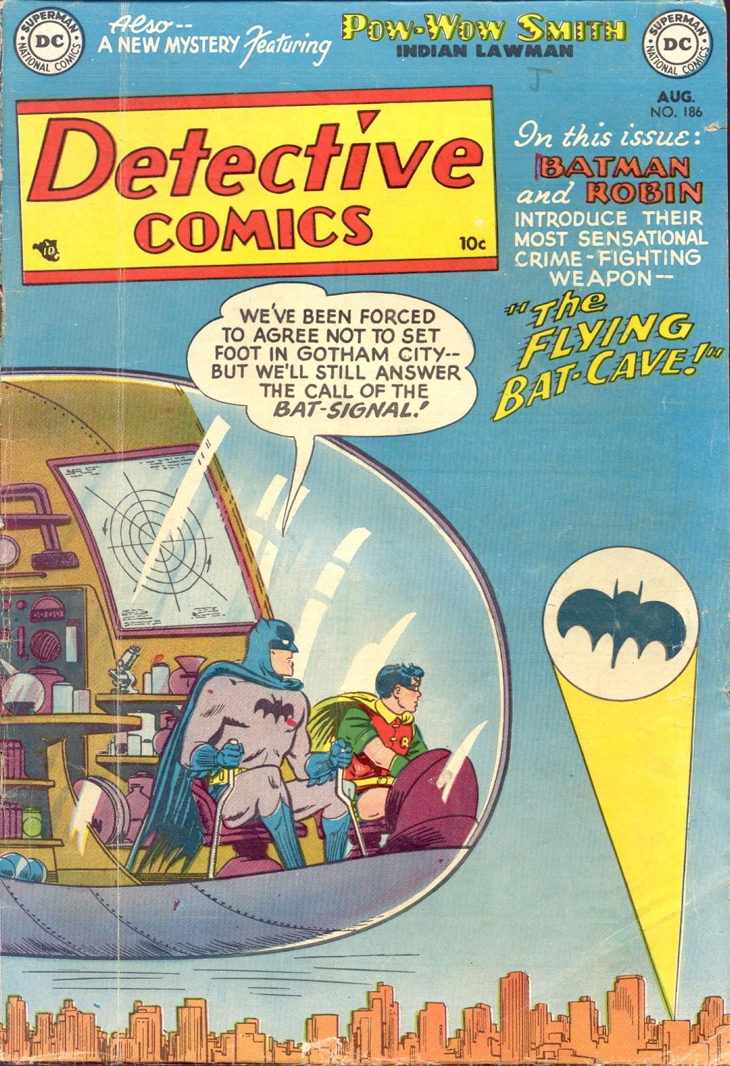 Detective Comics (1937) 186 Page 1