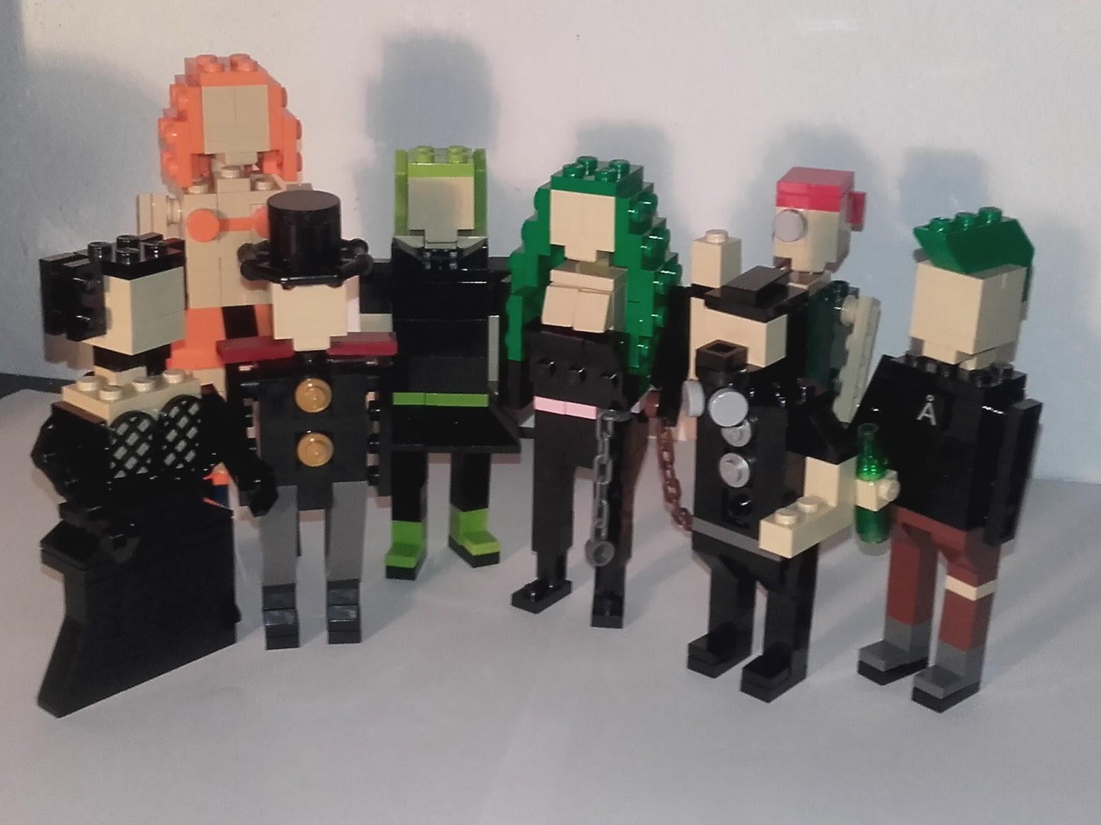 Spielzeug Lego Lot Of 6 Rot Short Minifig Beine Hüften Klein Hosen Für Minifgs