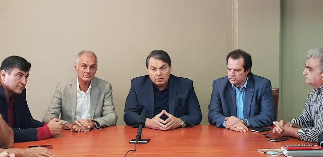 Επίσκεψη του Γενικού Γραμματέα του Υπουργείου Υποδομών στον Δήμαρχο Άργους Μυκηνών (βίντεο)