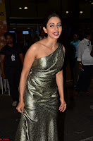 Rakul Preet Singh in Shining Glittering Golden Half Shoulder Gown at 64th Jio Filmfare Awards South ~  Exclusive 002.JPG