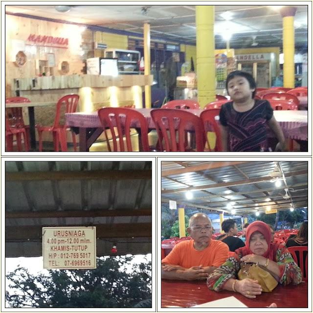 Tempat Makan Seafood Best Kukup| Restoran Mandella Tom Yam Sea Food Pontian Johor