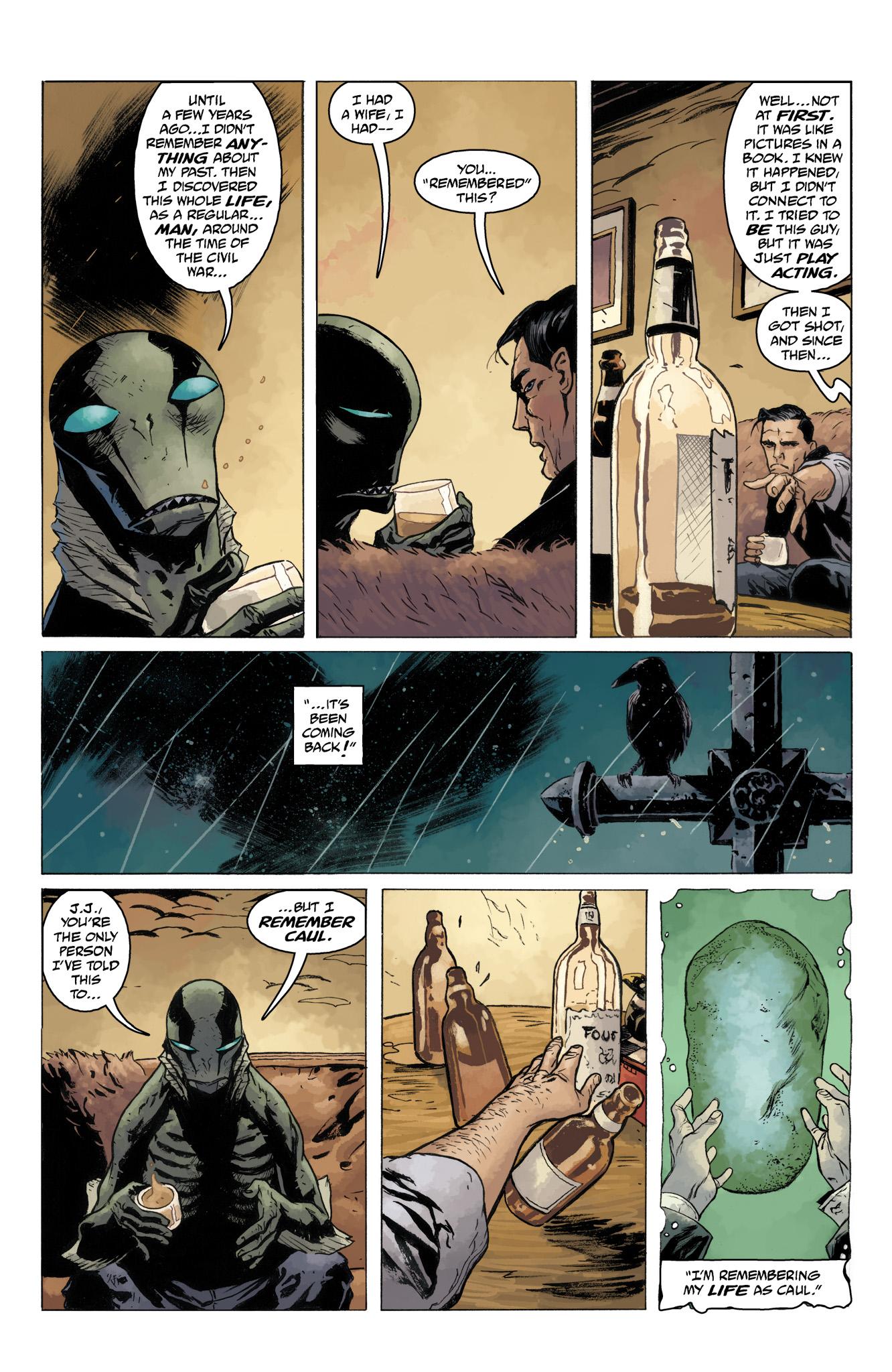Read online Abe Sapien comic -  Issue #10 - 13