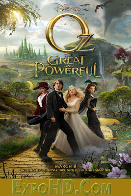 Oz the Great And Powerful 2013 Movie Download in 720p [Hindi & English] Blu-Ray x265 300MB|700 MB|1.3GB