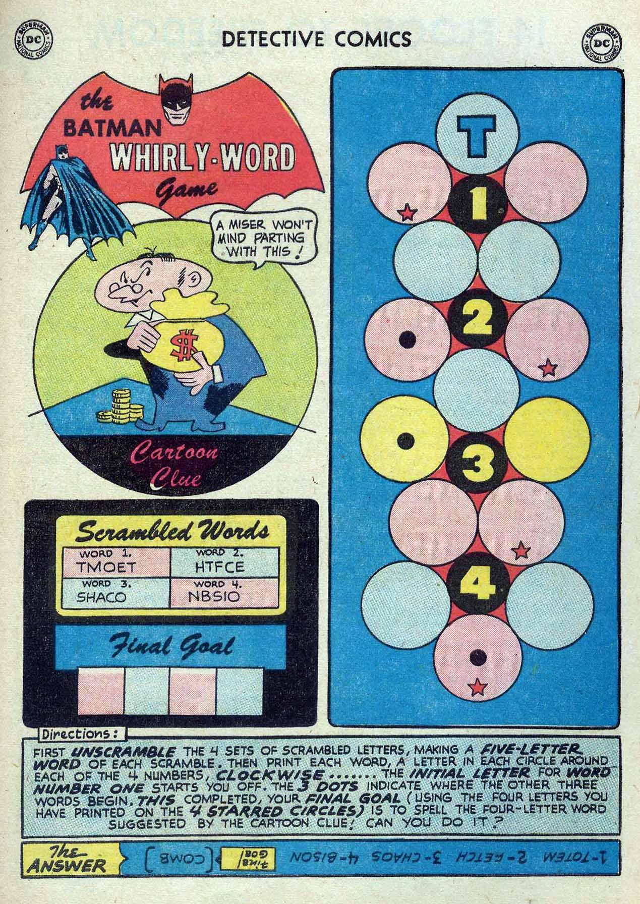 Read online Detective Comics (1937) comic -  Issue #262 - 25