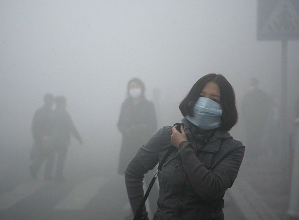 Thick smog
