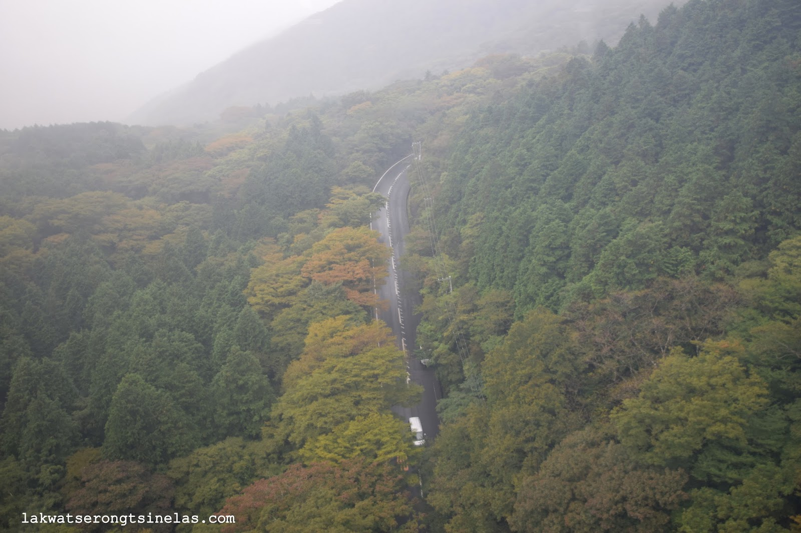 LAKE ASHI AND THE QUEST FOR MOUNT FUJI SIGHTINGS