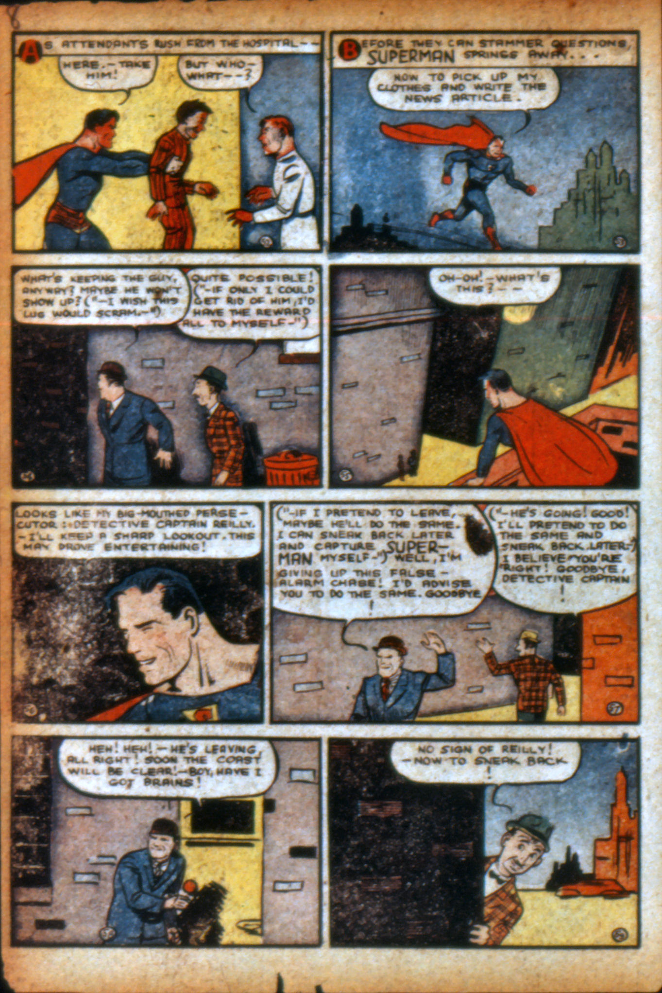 Read online Action Comics (1938) comic -  Issue #9 - 11