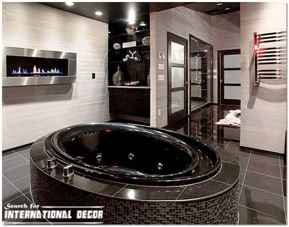 modern bathroom interior design fashionable style