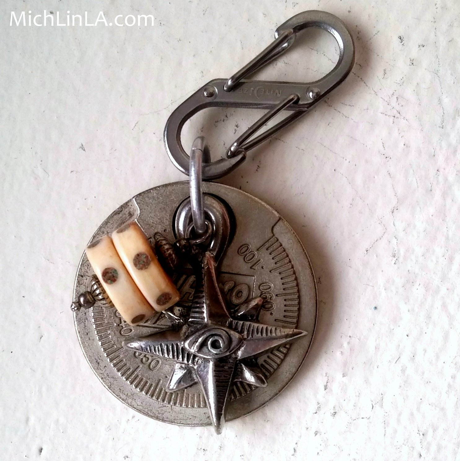 Mich L  in L A : Spark Plug Gap Tool Necklace - Gift For An