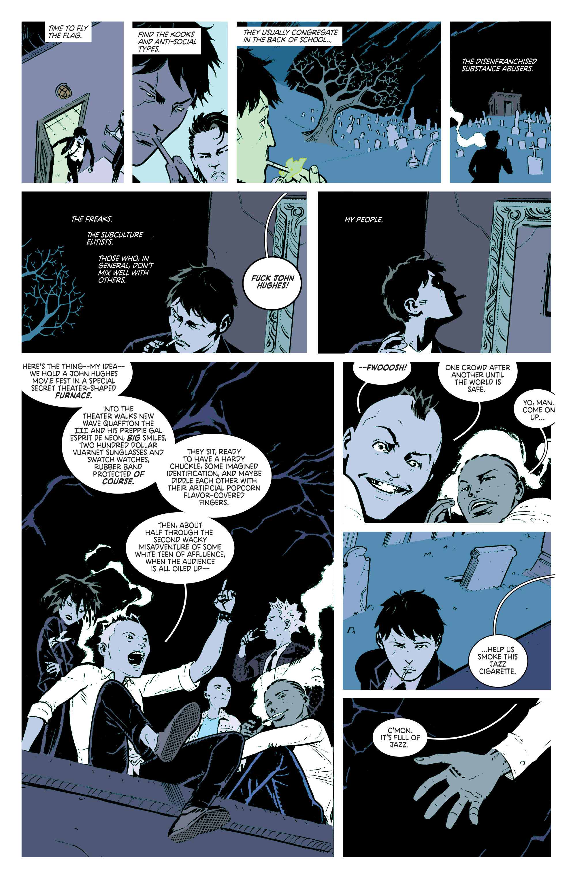 Read online Deadly Class comic -  Issue #2 - 13