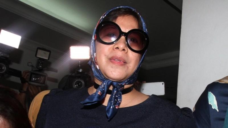 Joice Warouw di Mapolda Metro Jaya