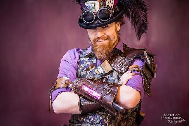 steampunk men outfit