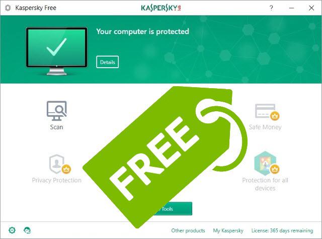 كاسبيرسكي تطلق برامج لمكافحة الفيروسات بشكل مجاني عالميا