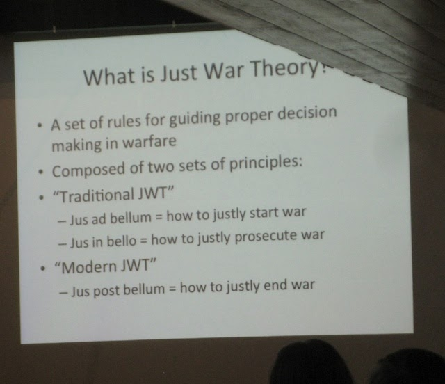 diversionary way of thinking for war