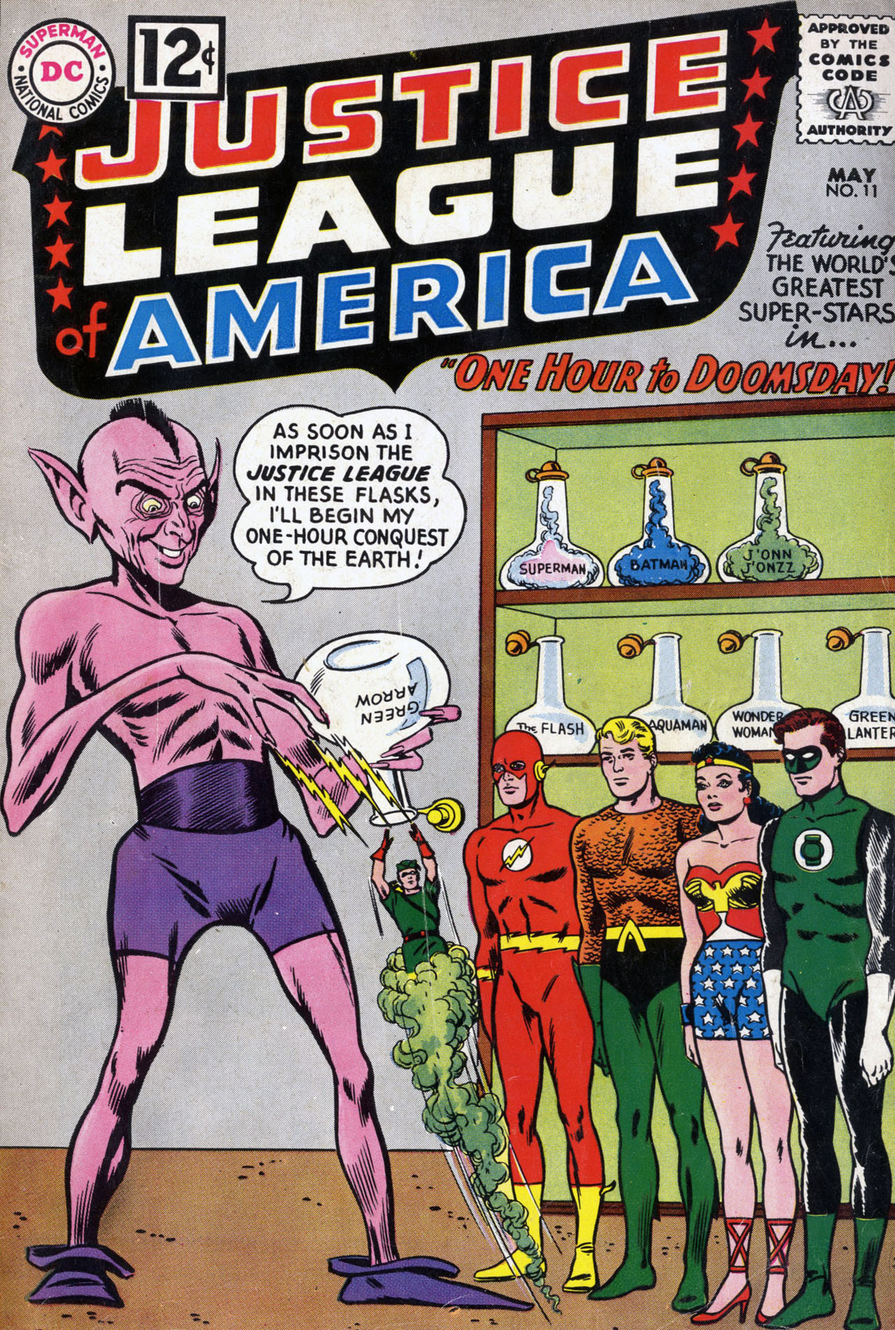 Justice League of America (1960) 11 Page 1