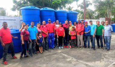 Instalada red comunitaria del Plan Tanque Azul en poblado merideño de Palmarito