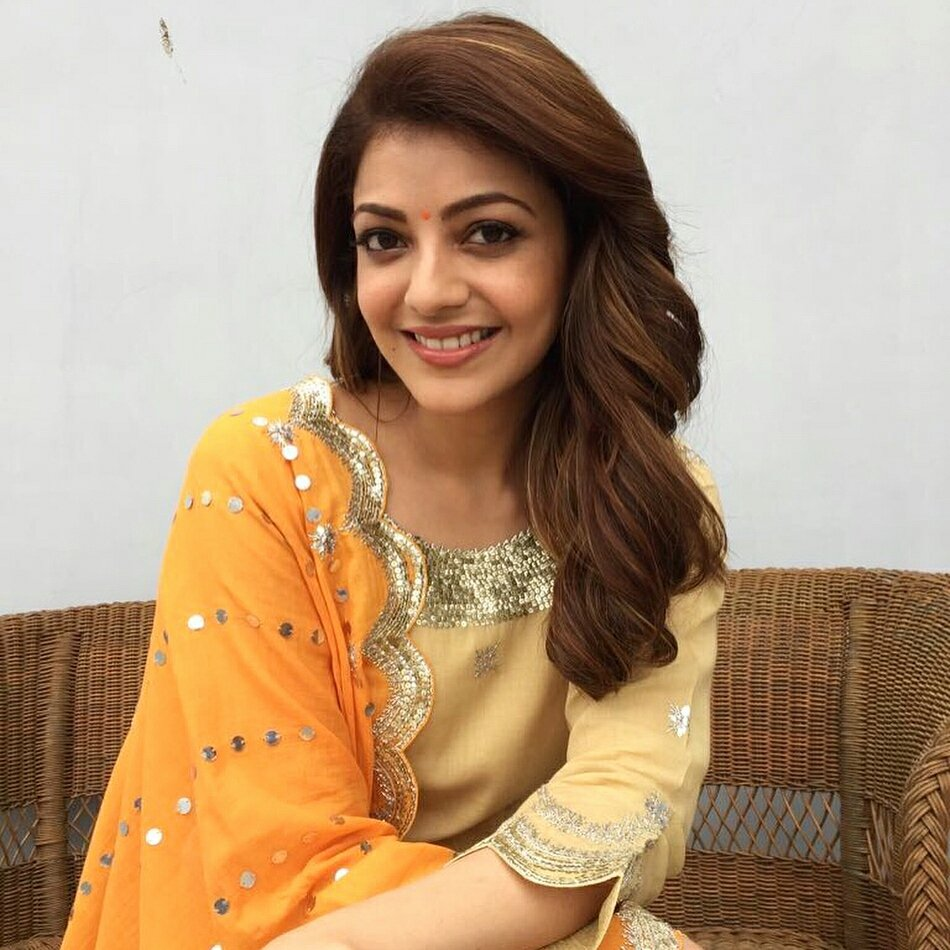 Kajal Agarwal at a Charity Event In Hyderabad