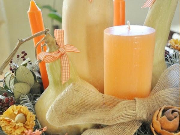 DIY: Centro de mesa natural para Halloween