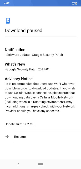 Nokia 8.1 receiving January 2019 Android Security update